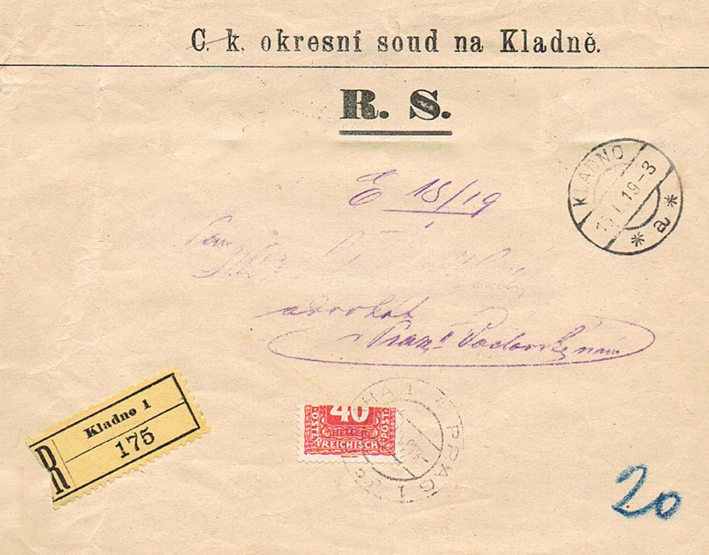 Inflation in Österreich - Belege - 1918 bis 1925 - Seite 19 Klad10