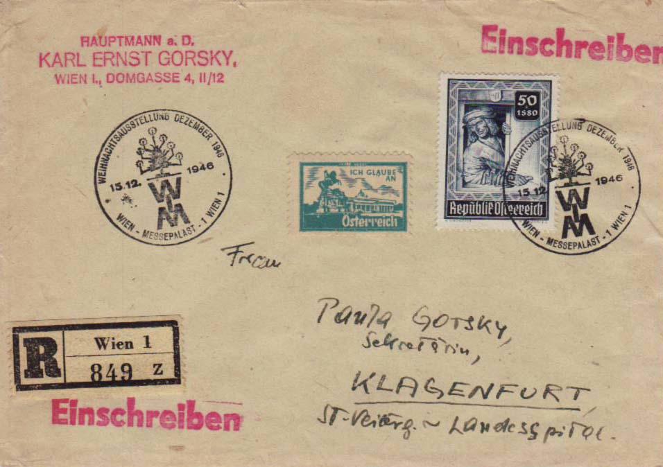 1945 - Sammlung Bedarfsbriefe Österreich ab 1945 - Seite 15 Klagen11