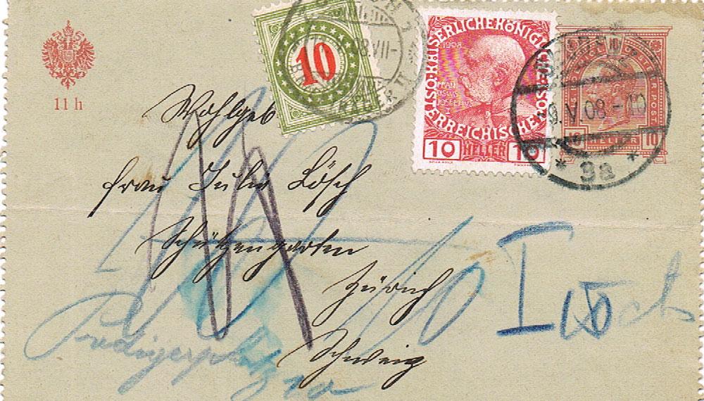 Die Freimarkenausgabe 1908 - Seite 2 Kr13