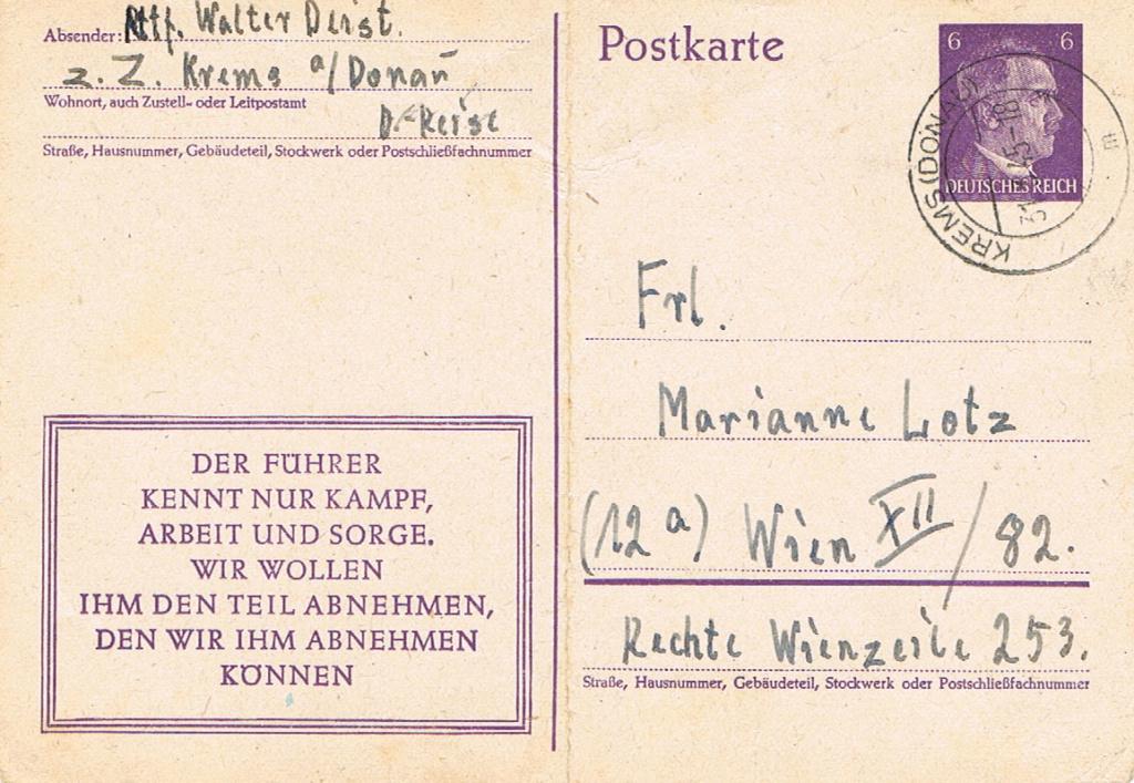 Österreich im III. Reich (Ostmark) Belege - Seite 17 Krems10