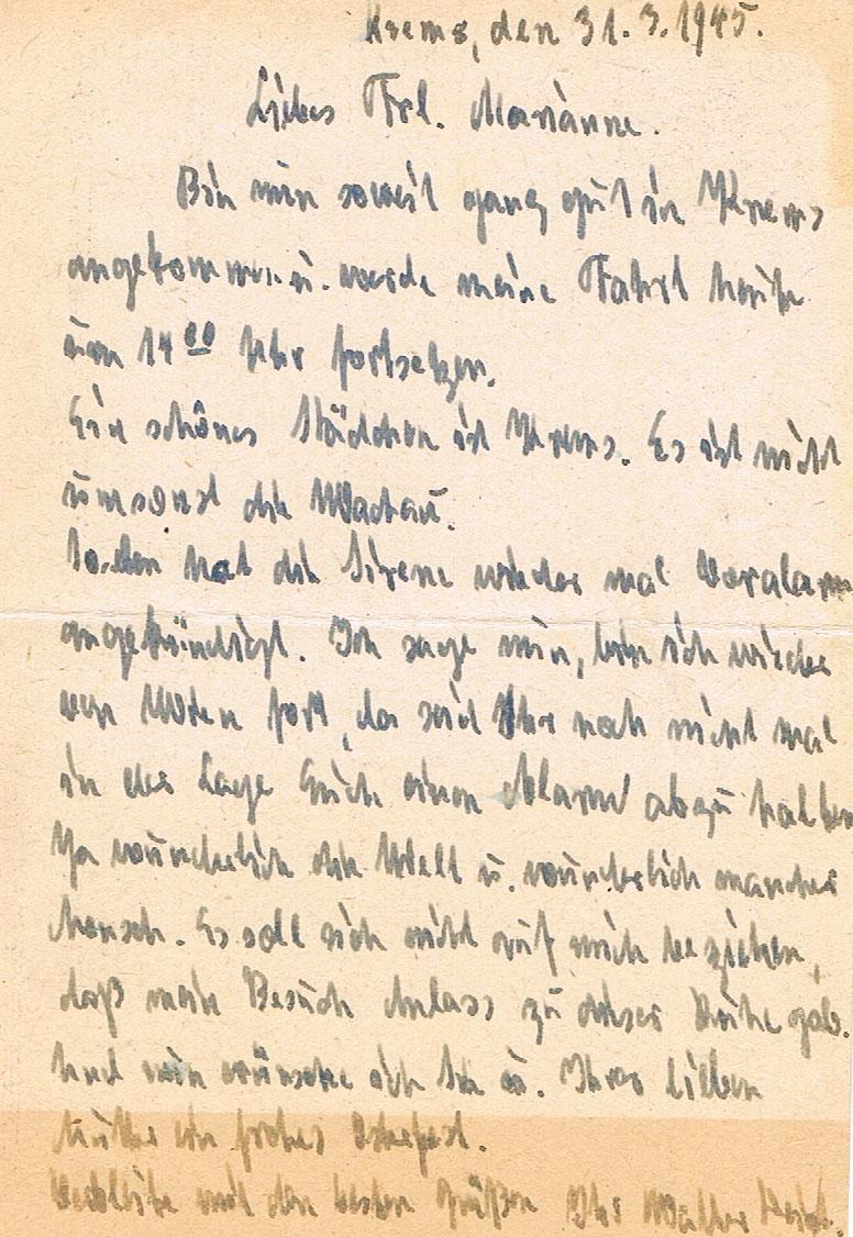 Österreich im III. Reich (Ostmark) Belege - Seite 17 Krems210