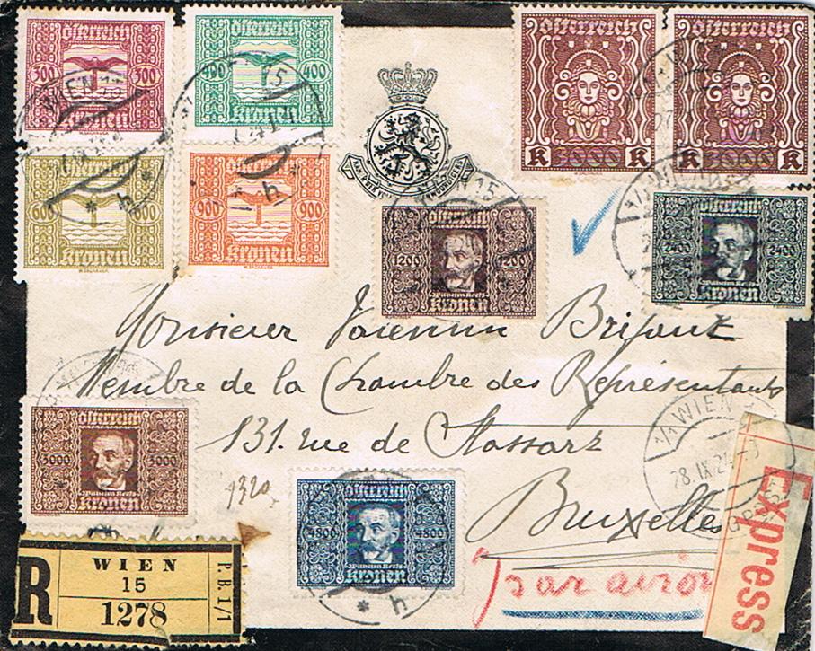 Inflation in Österreich - Belege - 1918 bis 1925 - Seite 21 Lf11