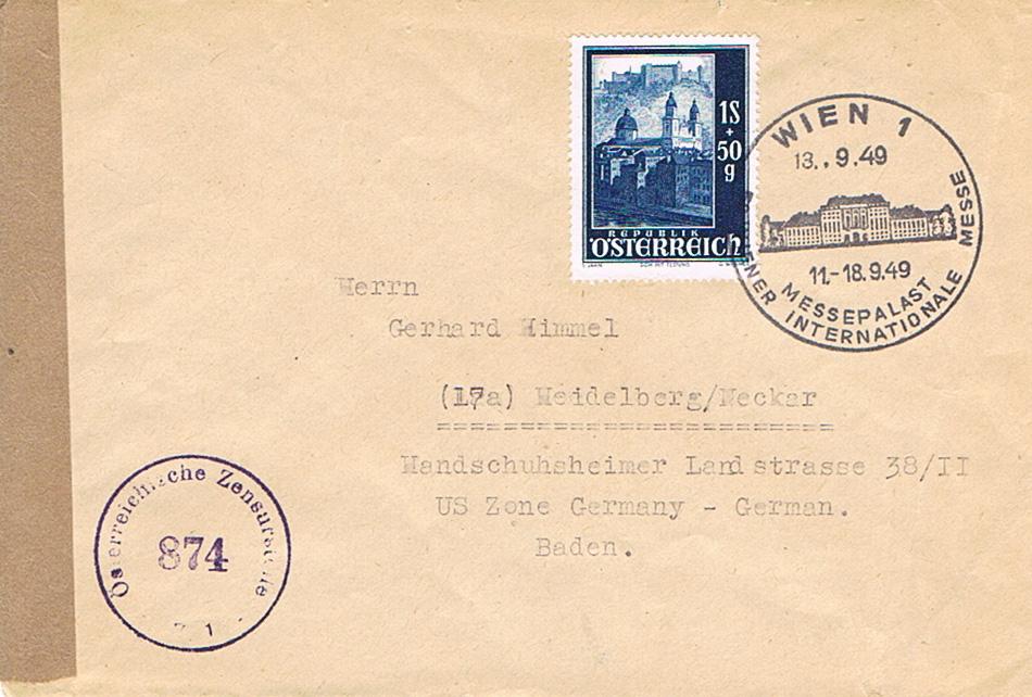 Sammlung Bedarfsbriefe Österreich ab 1945 - Seite 11 Mes11