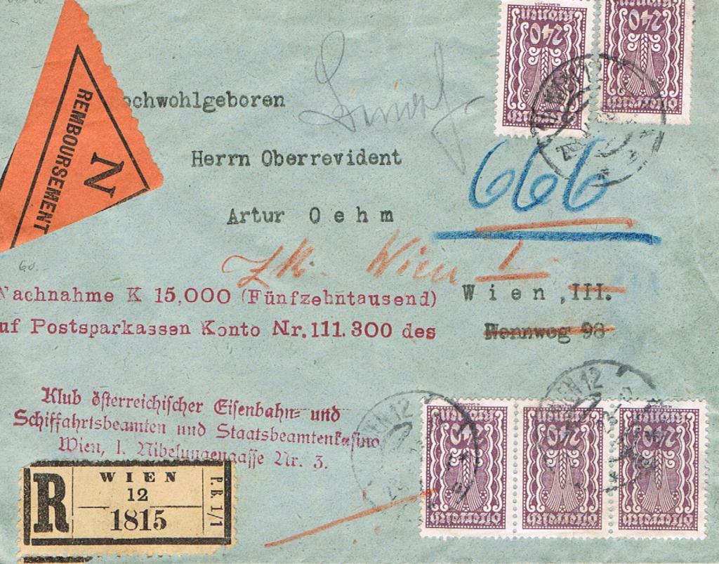 Inflation in Österreich - Belege - 1918 bis 1925 - Seite 17 Na10