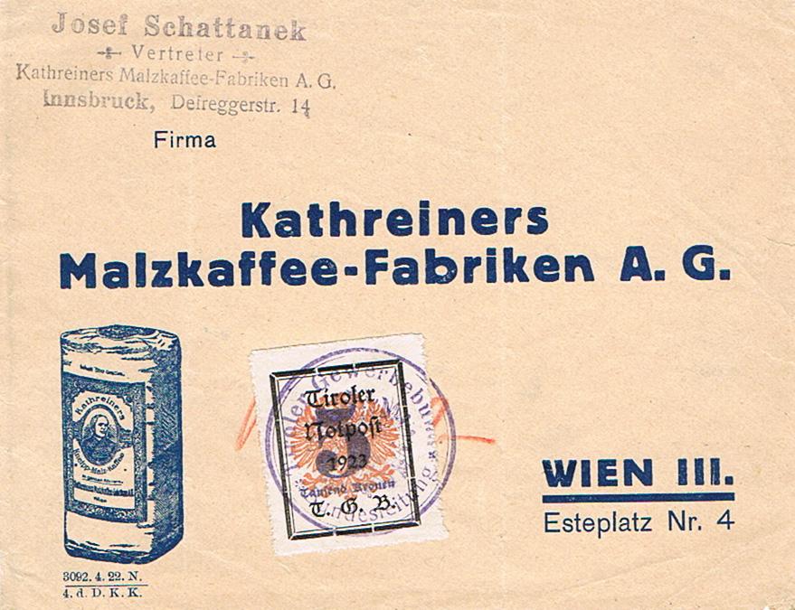 Inflation in Österreich - Belege - 1918 bis 1925 - Seite 20 Np11