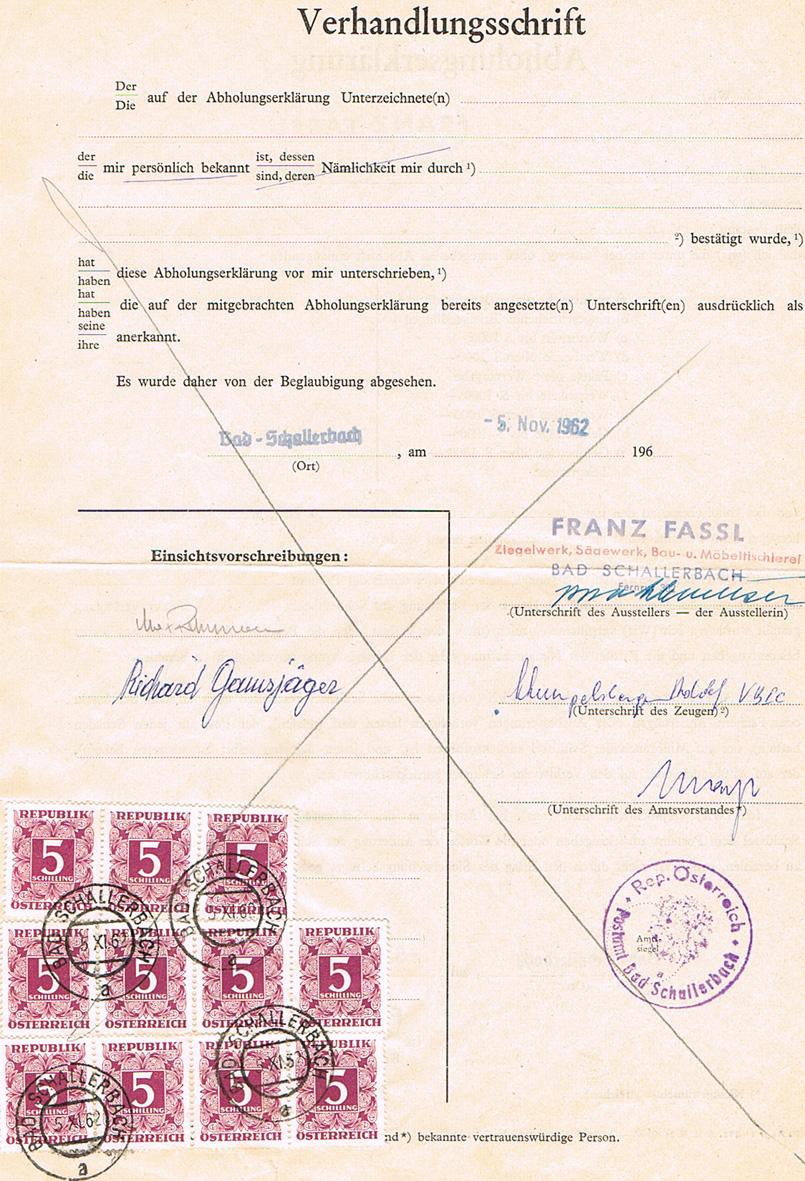 Verwendung von Portomarken in Österreich - Seite 2 P13