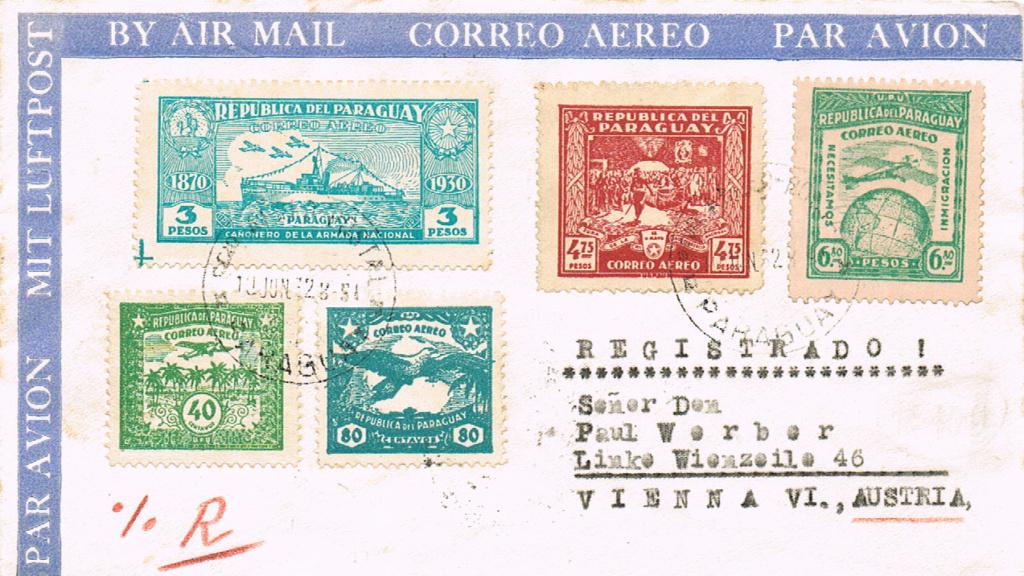 Flugpost nach Österreich - Seite 5 Paragu10