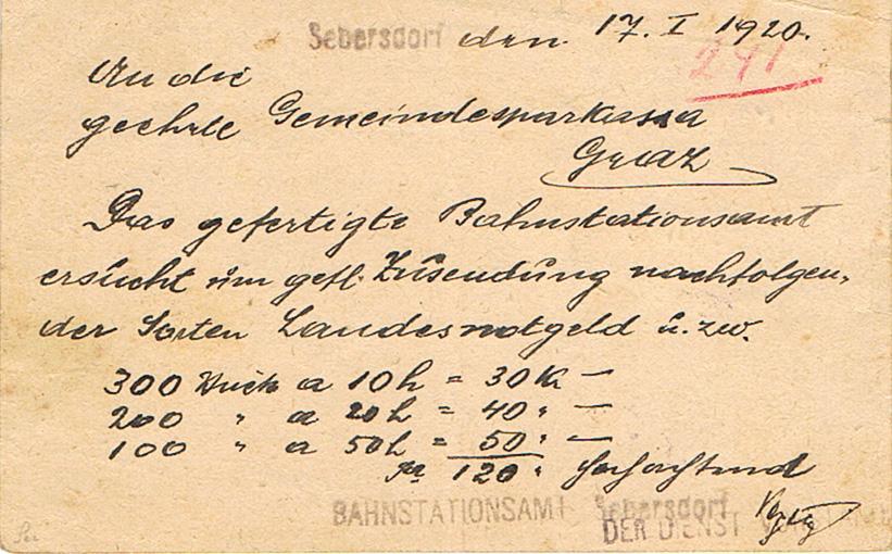 Inflation in Österreich - Belege - 1918 bis 1925 - Seite 19 Phr11