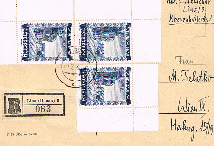 Sammlung Bedarfsbriefe Österreich ab 1945 - Seite 11 Pk10