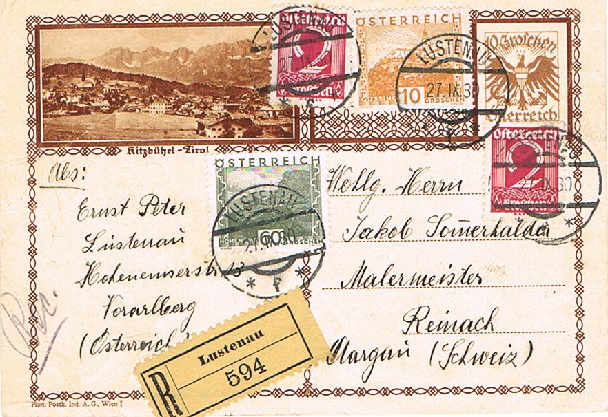 Bedarfspost Ganzsachen Österreich 1925-1938 - Seite 2 Pk16