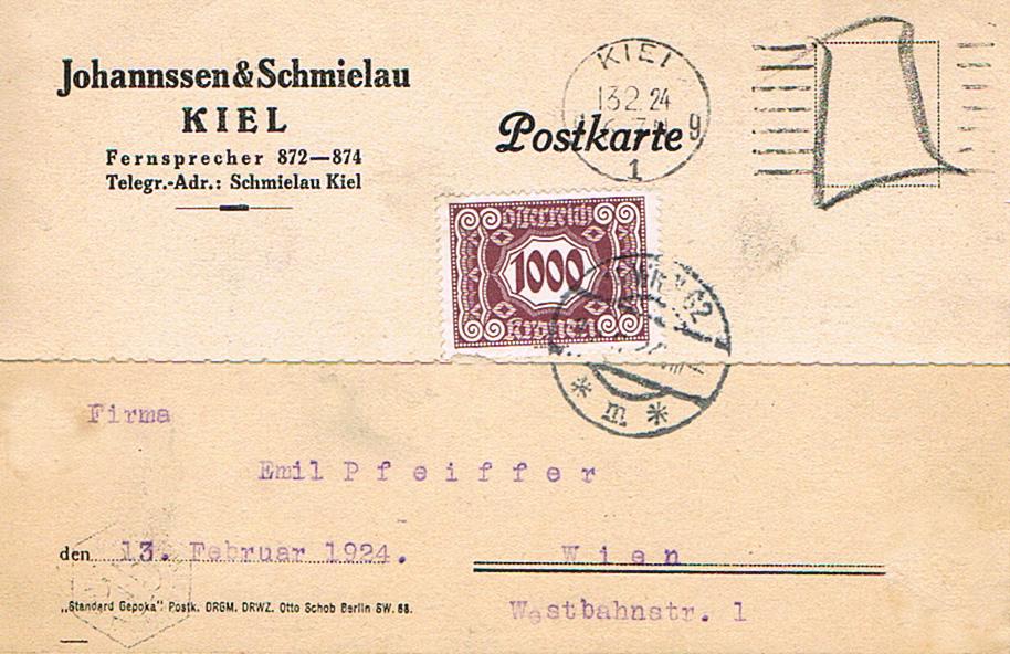 Inflation in Österreich - Belege - 1918 bis 1925 - Seite 18 Po10