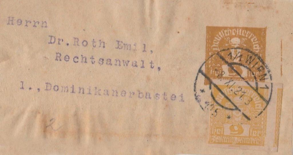 Privatstreifbänder - Österreich Pv10
