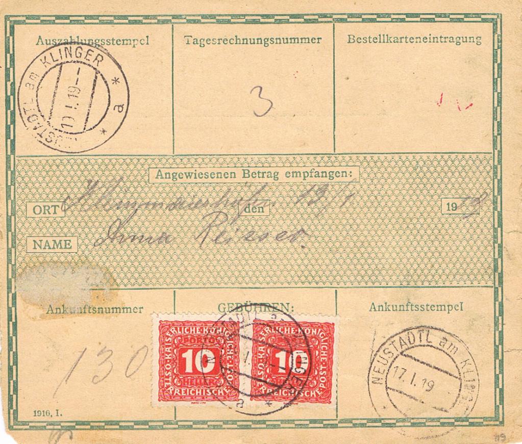 Inflation in Österreich - Belege - 1918 bis 1925 - Seite 22 Pw210