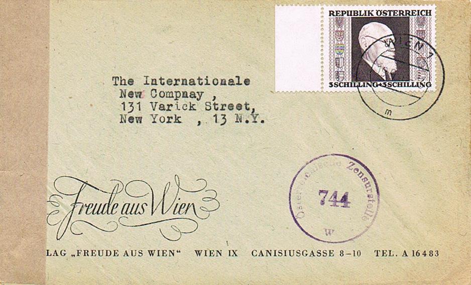 Sammlung Bedarfsbriefe Österreich ab 1945 - Seite 13 Re10