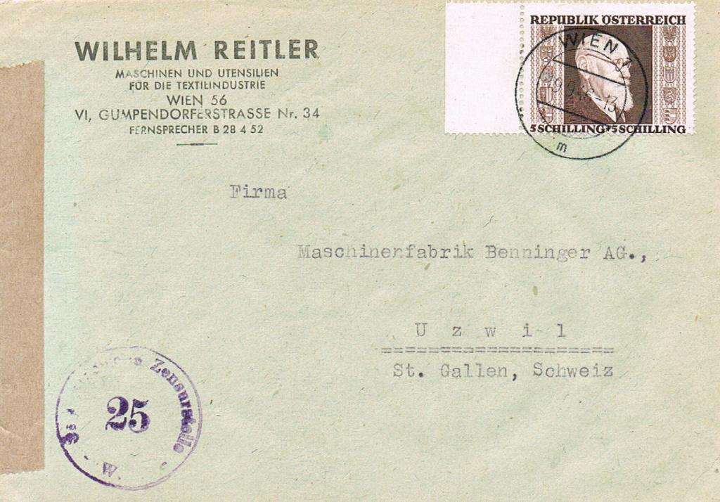 Sammlung Bedarfsbriefe Österreich ab 1945 - Seite 14 Renner10