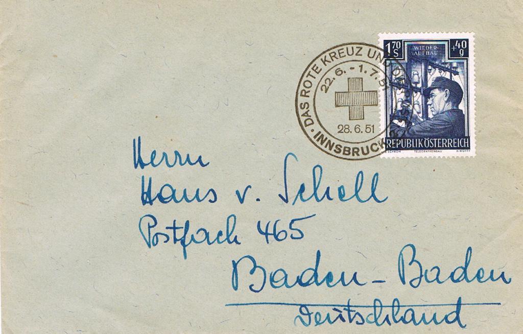 Sammlung Bedarfsbriefe Österreich ab 1945 - Seite 12 Rk11
