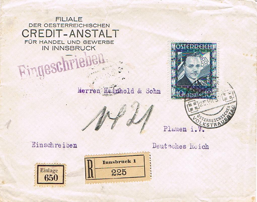 Österreich 1925 - 1938 - Seite 12 Rk13