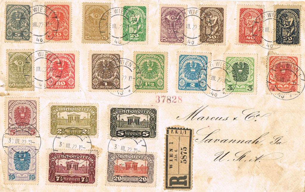 Inflation in Österreich - Belege - 1918 bis 1925 - Seite 17 Sav10
