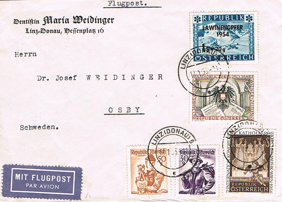 Sammlung Bedarfsbriefe Österreich ab 1945 - Seite 10 Schw10
