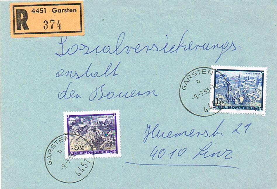 Stifte und Klöster - Belege Sk11