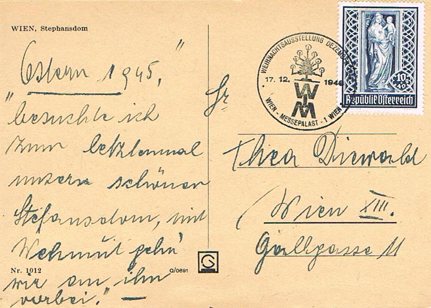 Sammlung Bedarfsbriefe Österreich ab 1945 - Seite 10 St11