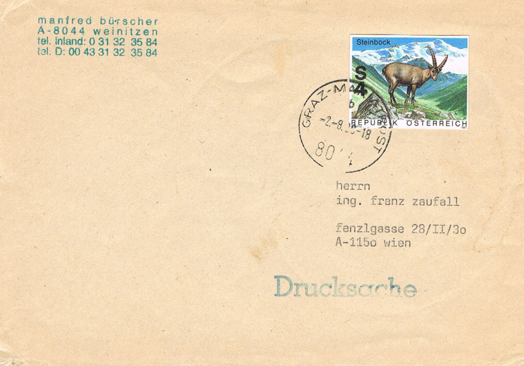 1945 - Sammlung Bedarfsbriefe Österreich ab 1945 - Seite 15 St15