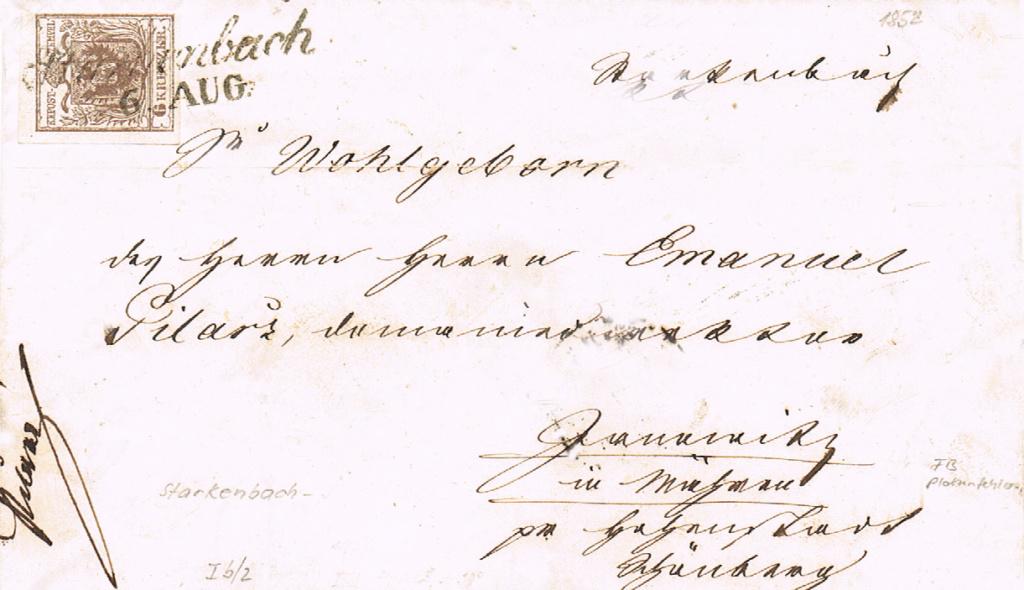 Die erste Österreichische Ausgabe 1850 - Seite 22 Starke10