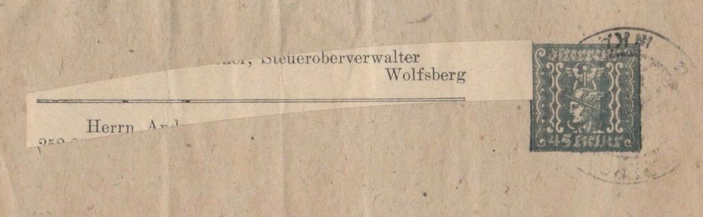Inflation in Österreich - Belege - 1918 bis 1925 - Seite 19 Str10