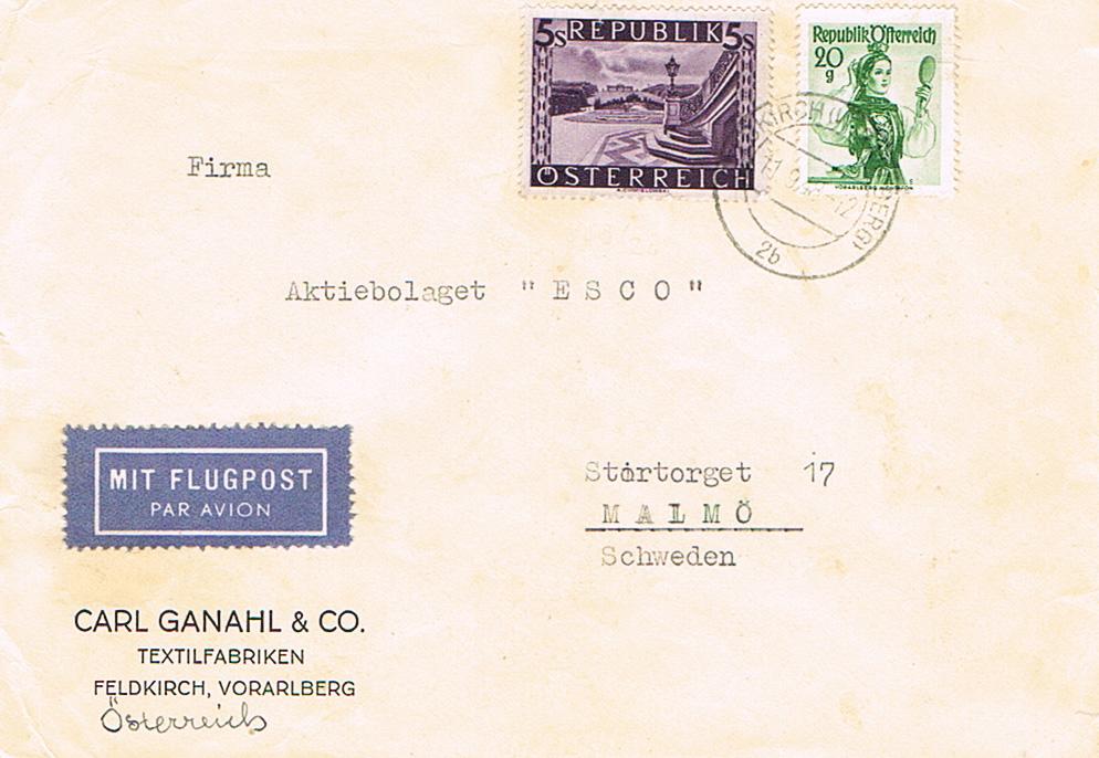 Sammlung Bedarfsbriefe Österreich ab 1945 - Seite 13 Sw12
