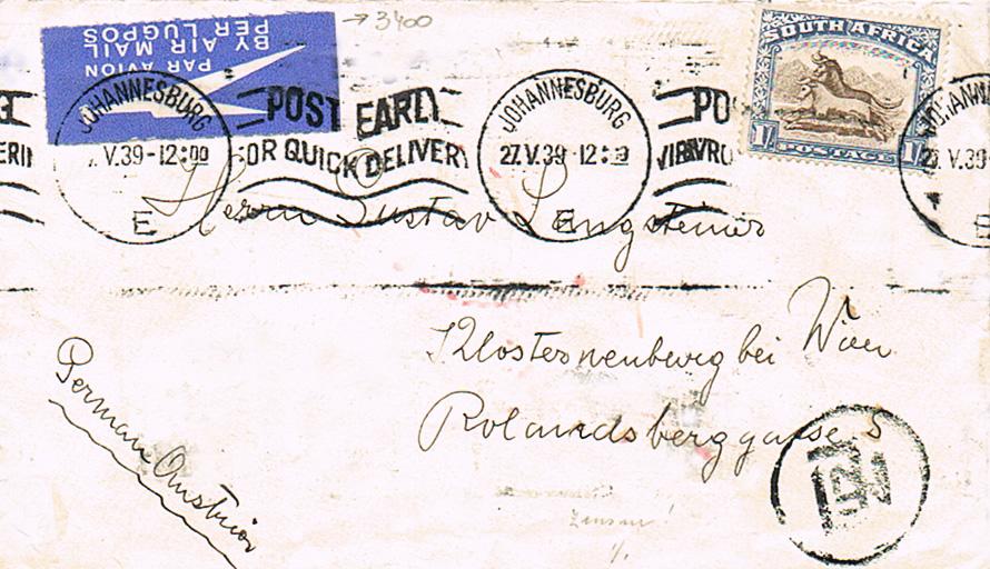 Flugpost nach Österreich - Seite 3 Szdafr10
