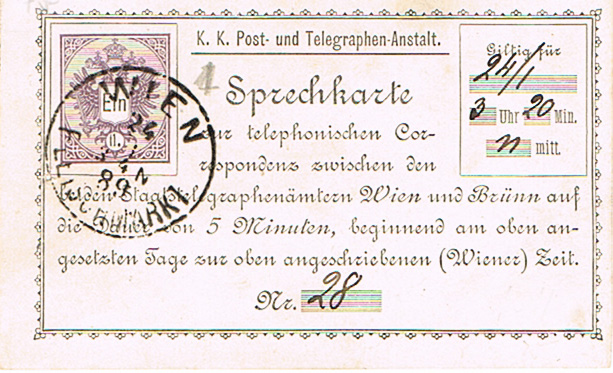 Telefonsprechkarten - Ganzsachen Telefo10
