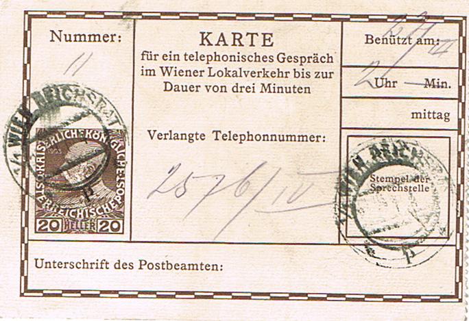 Telefonsprechkarten - Ganzsachen Tk11