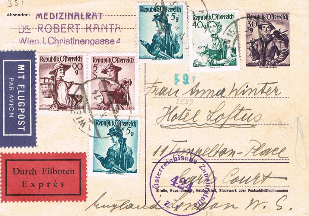 Trachtenserien ANK 887 - 923 und 1052 - 1072 Belege - Seite 12 Tracht10