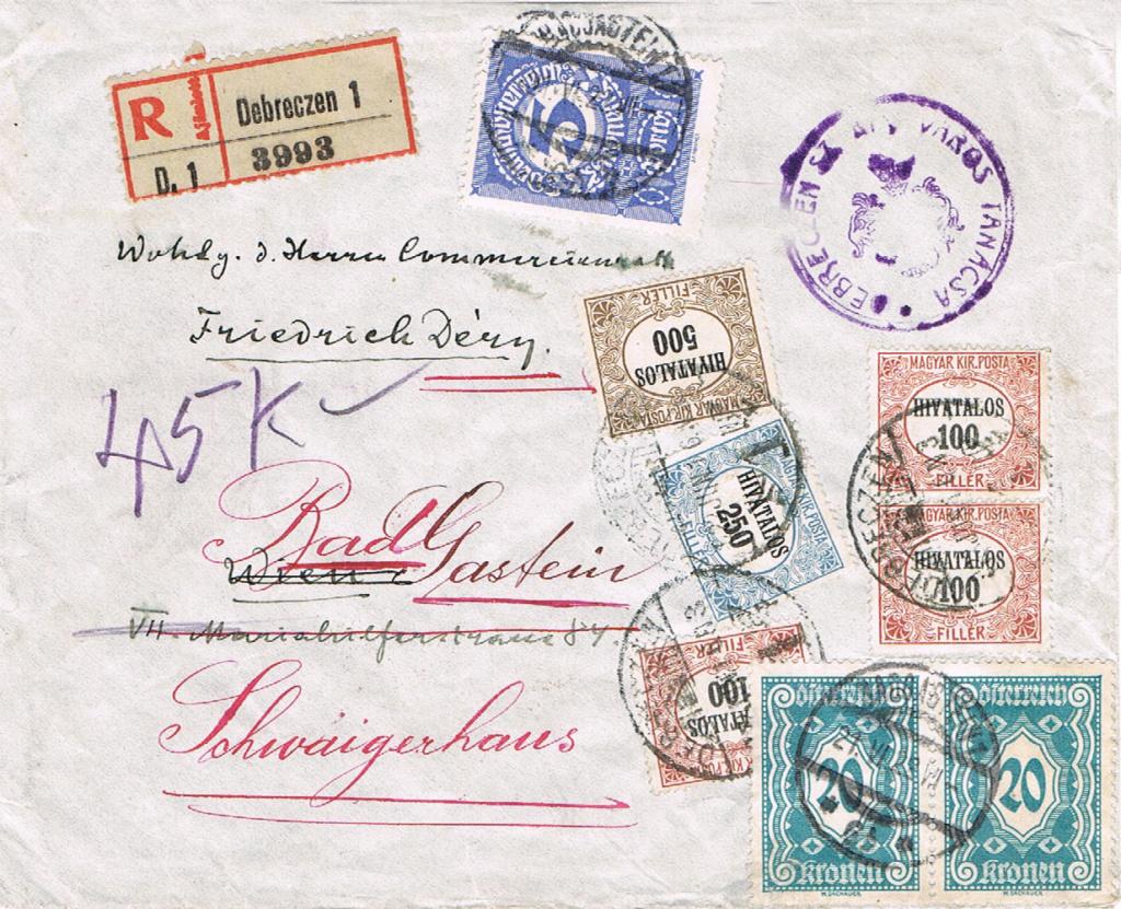 Inflation in Österreich - Belege - 1918 bis 1925 - Seite 17 Ui11