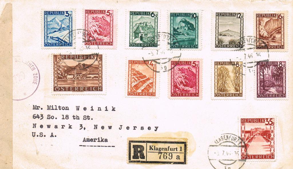 Landschaftsbilder ANK 738-766  -  Belege - Seite 11 Usa12