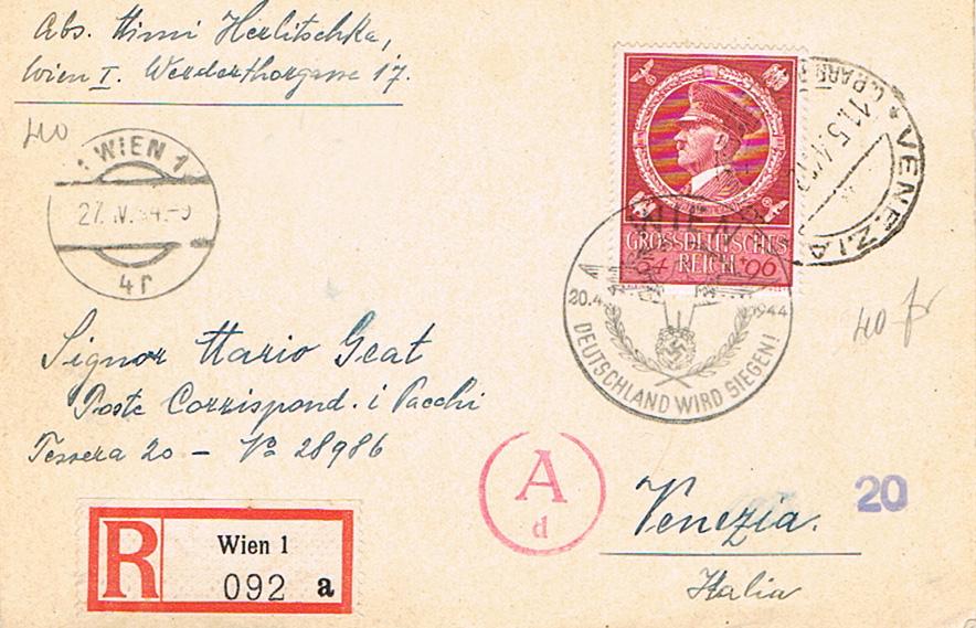 Österreich im III. Reich (Ostmark) Belege - Seite 14 Ve10