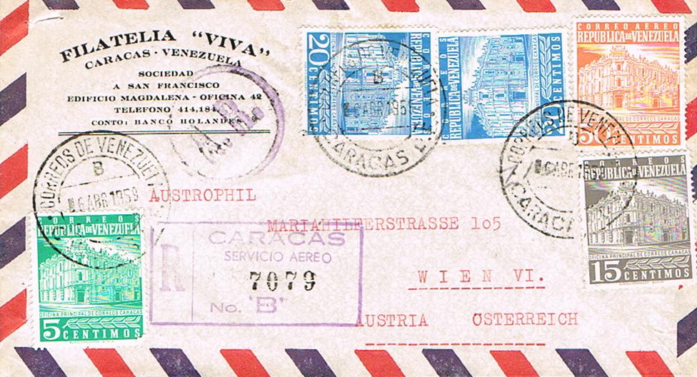 Flugpost nach Österreich - Seite 4 Venezu10