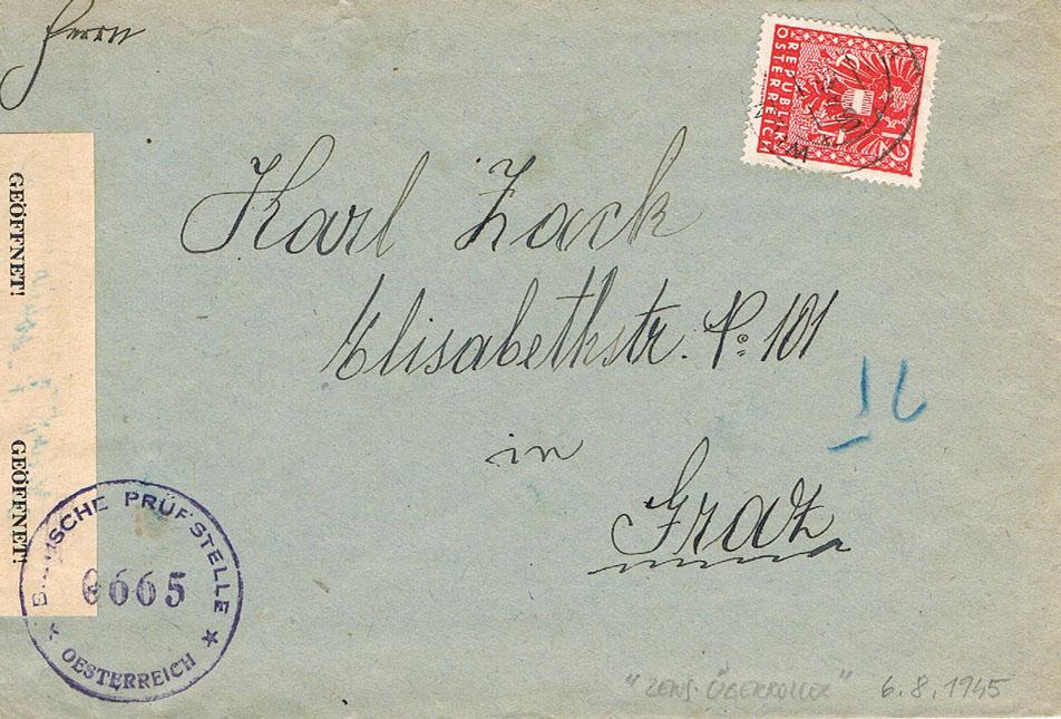 Wappenzeichnung  -  ANK 714-736 - Belege - Seite 4 Wa10