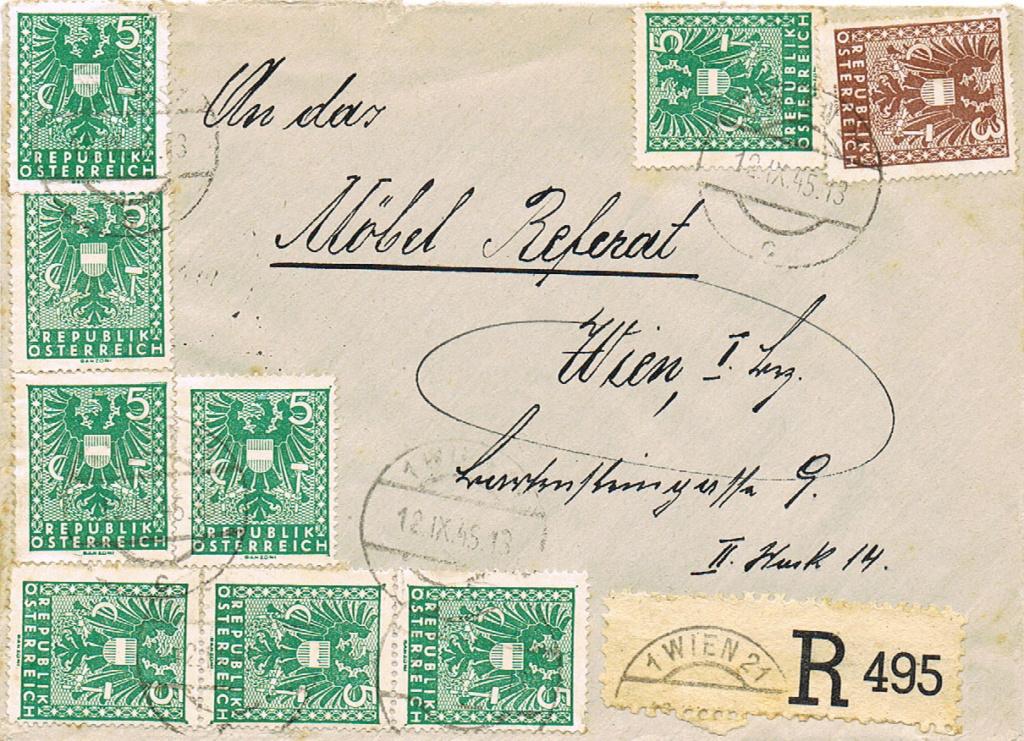 Wappenzeichnung  -  ANK 714-736 - Belege - Seite 5 Wappen10