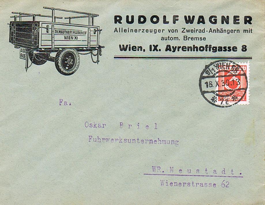 Werbeumschläge und -karten aus Österreich - Seite 7 We12
