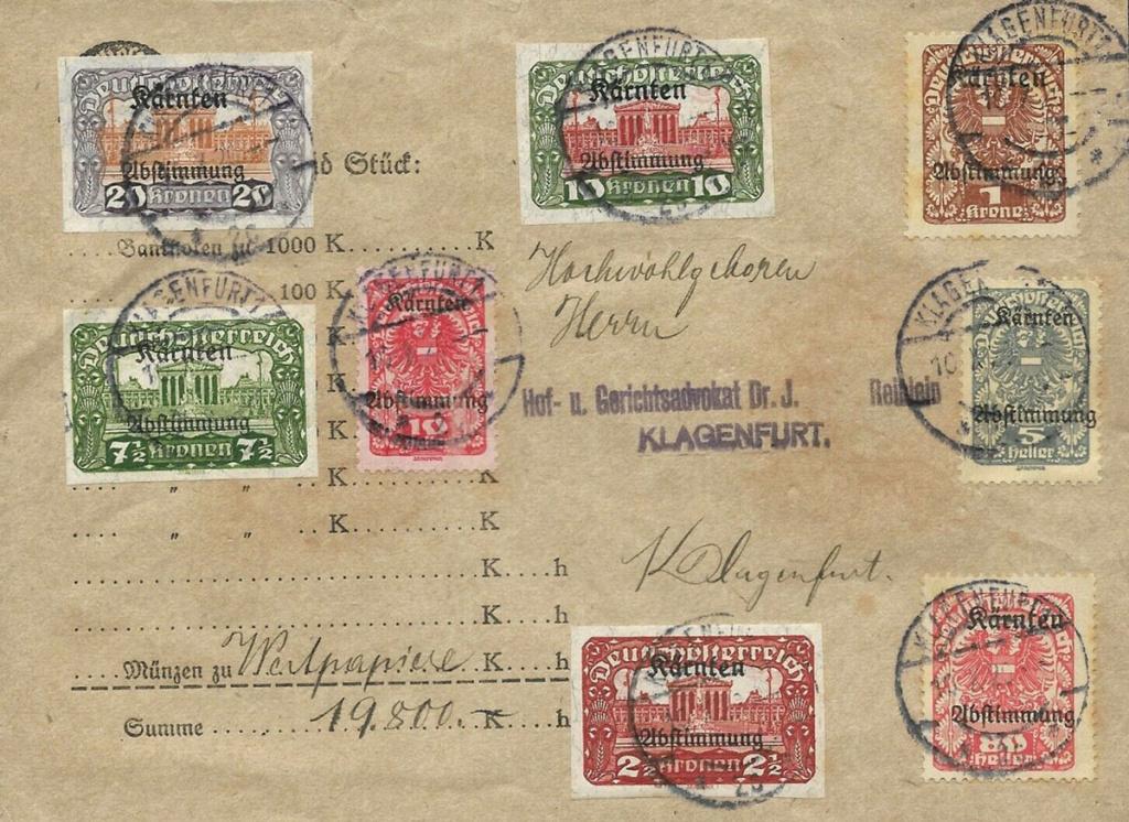 Inflation in Österreich - Belege - 1918 bis 1925 - Seite 23 Wertb10