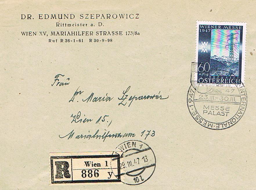 Sammlung Bedarfsbriefe Österreich ab 1945 - Seite 10 Wm11