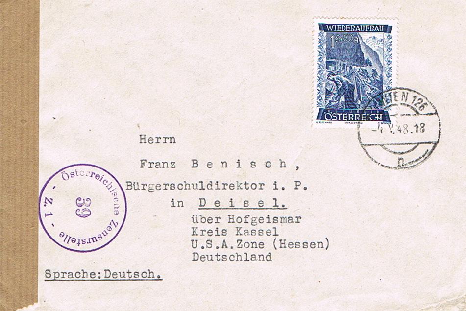 Sammlung Bedarfsbriefe Österreich ab 1945 - Seite 10 Ze10