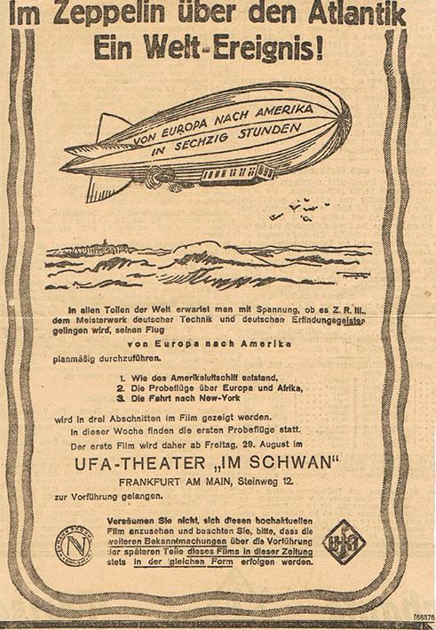 Zeppelin-Zeitungsauschnitt Zepell10