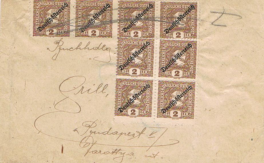 Inflation in Österreich - Belege - 1918 bis 1925 - Seite 18 Zs11