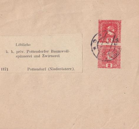 Privatstreifbänder - Österreich Zs12
