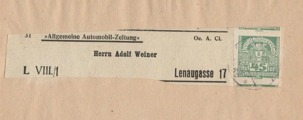 Inflation in Österreich - Belege - 1918 bis 1925 - Seite 19 Zs14