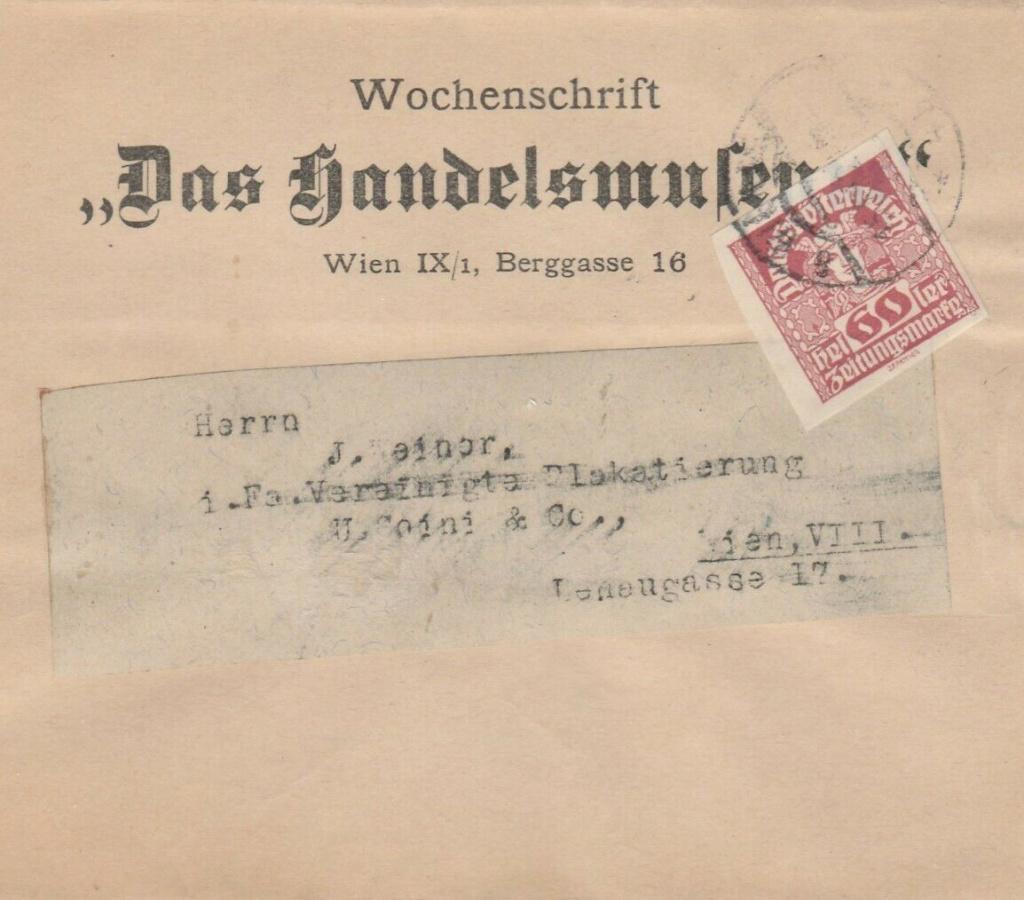 Inflation in Österreich - Belege - 1918 bis 1925 - Seite 19 Zs15