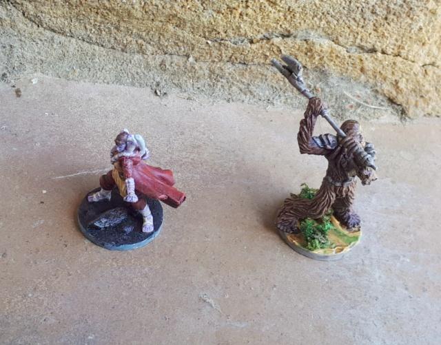 Figurines peintes divers jeux 20200425