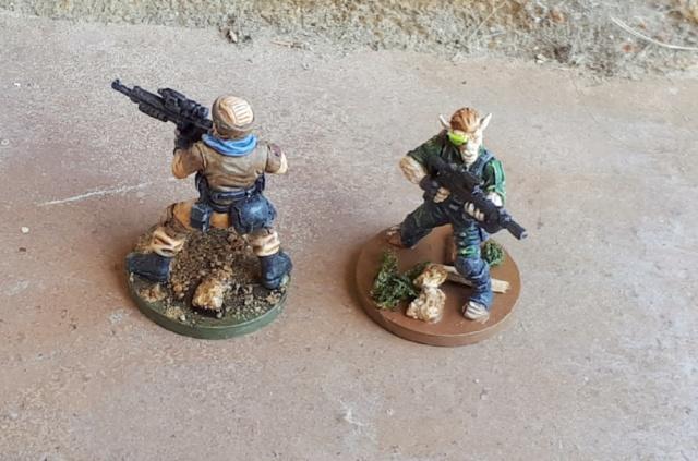Figurines peintes divers jeux 20200426